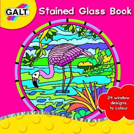 Galt, kleurboek glas-in- lood.