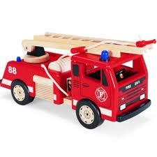 Pin toys brandweerwagen.
