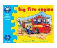 Orchard toys, legpuzzel grote brandweerwagen 20 stukjes.