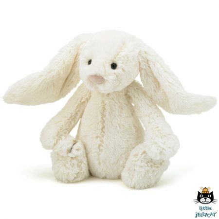 Jellycat 	Bashful Cream Bunny Medium Formaat	31cm