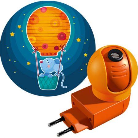 Haba projectie nachtlampje Welterusten muis.
