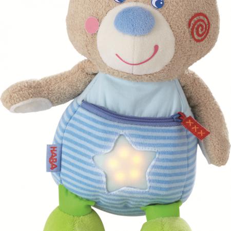 Haba slaapbeer met led verlichting