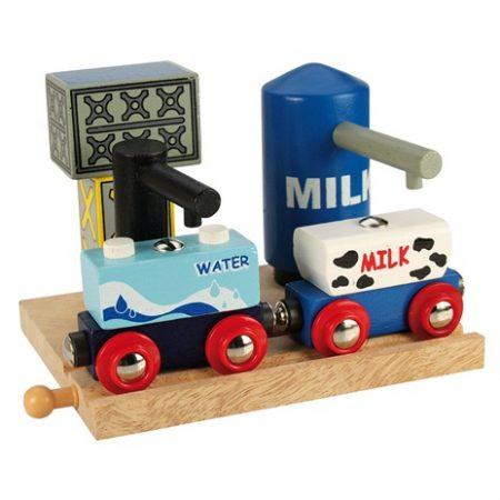 Big jigs melk en water depot