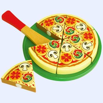 Allehand Pizza (snijfiguur), groente