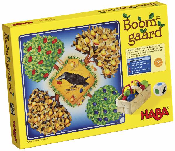 Haba, Boomgaard nu met gratis puzzel.