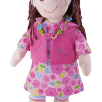 Haba, stoffen pop Paola, 38 cm groot