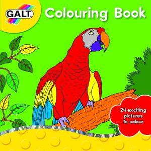 Galt, kleurboek.