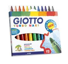 Giotto,viltstiften turbo maxi.