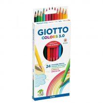 Giotto colors 3.0 voor kleuren/tekenen 24 stuks