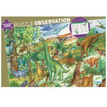 Djeco  zoekpuzzel  dinosaurussen 100 stukjes vanaf 5 jaar