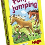 Haba pony jumping, dobbelspel met paarden-1268