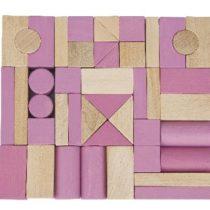 van Dijk toys blokkenset roze voor blokkenwagen