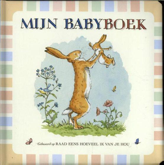 Raad eens hoeveel ik van je hou, babyboek