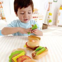 Hape hamburger en hotdog maken-1396