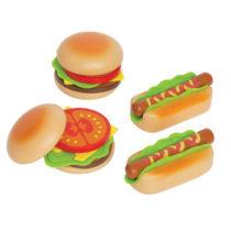 Hape hamburger en hotdog maken-0