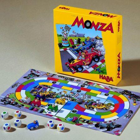 Haba, Monza  een snel racespel