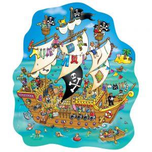Orchard toys legpuzzel piraten schip 100 stukjes