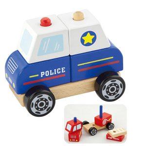 Politieauto demontabel