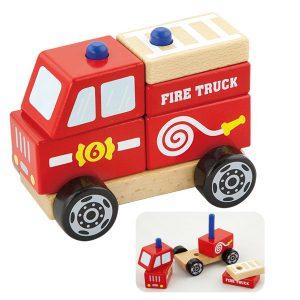 Brandweerauto demontabel