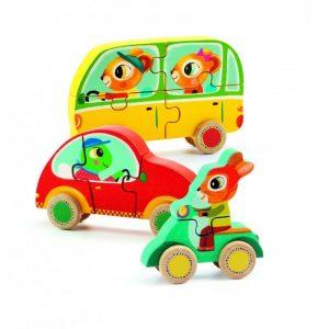 Djeco houten puzzel Jako & Co