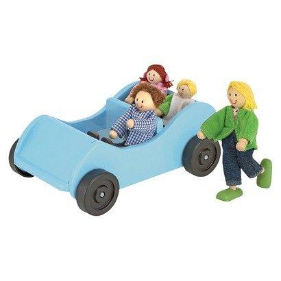 Melissa & Doug Poppenhuis poppetjes met auto-2197