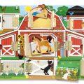 Melissa & Doug Houten speelgoed Puzzel en spel-0