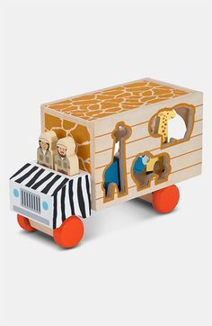 Melissa & Doug, vormentruck safari-2425