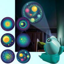 Haba projectie nachtlampje regenboogmelkweg 6 afbeeldingen.