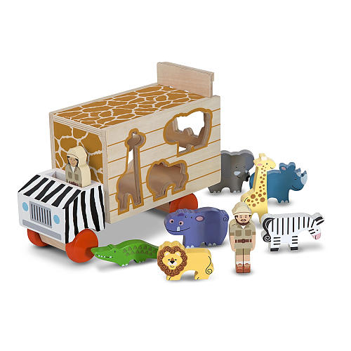 Melissa & Doug, vormentruck safari-0