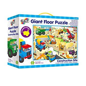 Galt, reusachtige vloerpuzzel bouwterein