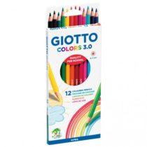 Giotto colors 3.0 voor kleuren/tekenen 12 stuks