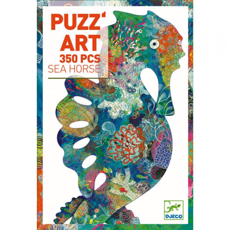 Djeco puzzel puzz'art zeepaard (350st)
