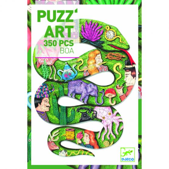Djeco puzzel puzz'art, Boa (350st)