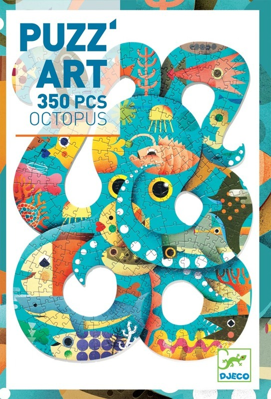 Djeco puzzel puzz'art, Octopus (350st)