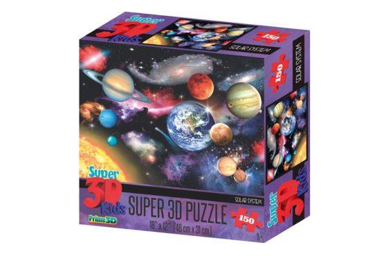 Prime 3D Puzzle zonnestelsel