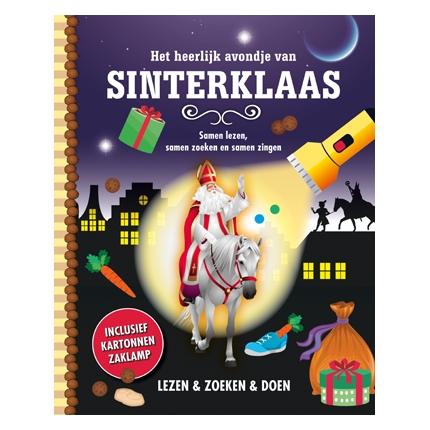 Zaklamp-boek Sinterklaas