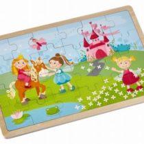 Haba Houten puzzel prinsessen 24 stukjes