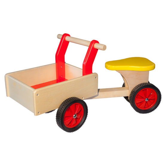 Bakfiets rood Allehand