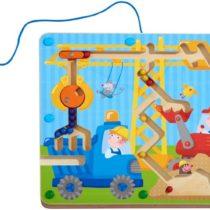 Haba magneetspel op de bouwplaats