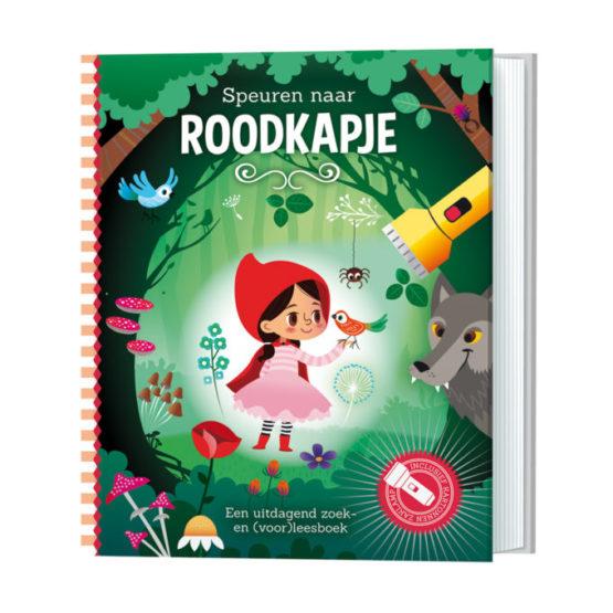 Zaklamp-boek Roodkapje