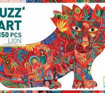 Djeco puzzel puzz'art, leeuw