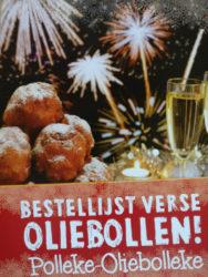 Oliebollen en Appelbeignets nu te bestellen in de winkel in Boekelo, of bellen 053-8500458.